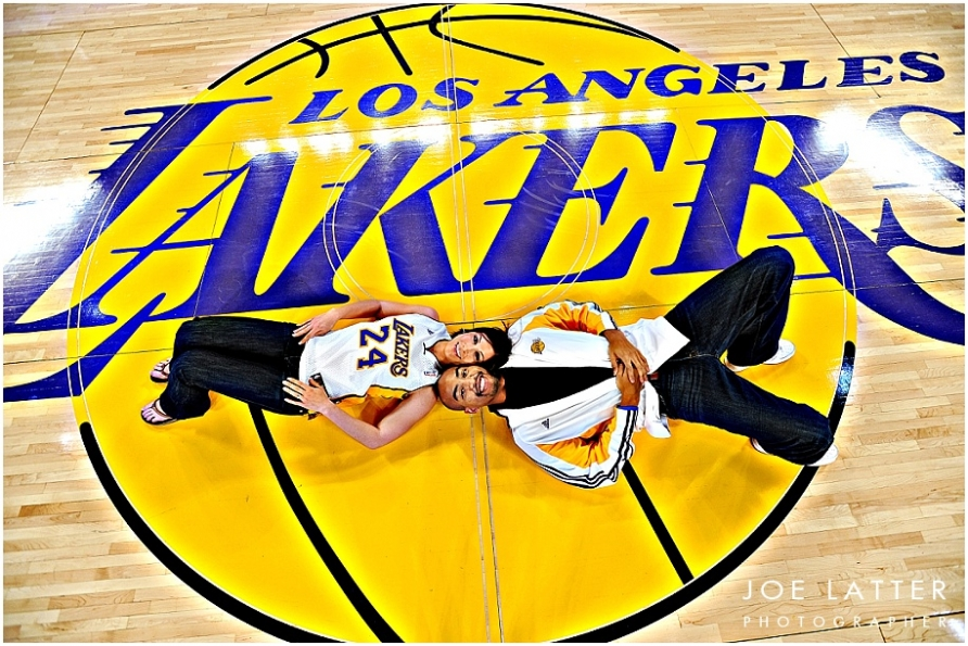 0002 Lakers Staples Center Engagement