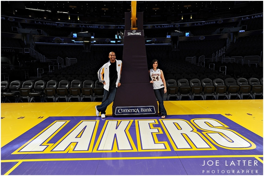 0003 Lakers Staples Center Engagement