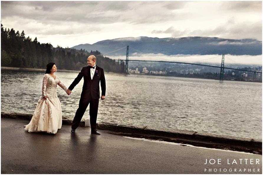 0014 Vancouver British Columbia Stanley Park Wedding