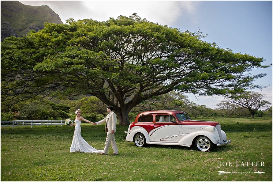 0023 Hawaii Wedding Oahu Kualoa Ranch Photographer