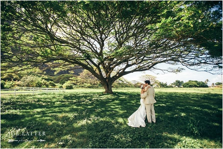 0025 Hawaii Wedding Oahu Kualoa Ranch Photographer