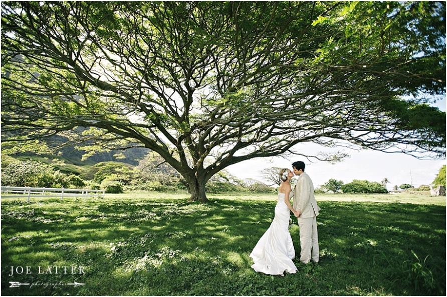 0026 Hawaii Wedding Oahu Kualoa Ranch Photographer