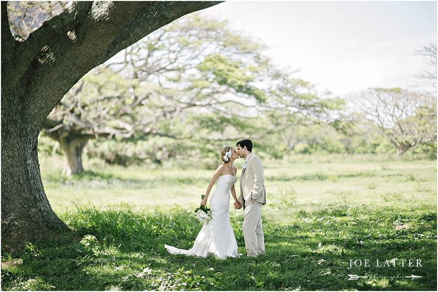 0028 Hawaii Wedding Oahu Kualoa Ranch Photographer