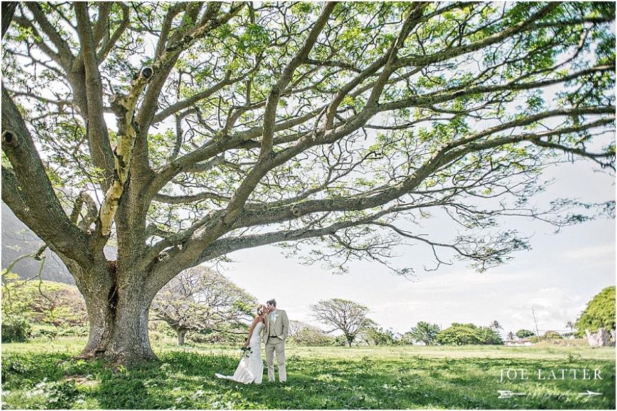 0030 Hawaii Wedding Oahu Kualoa Ranch Photographer