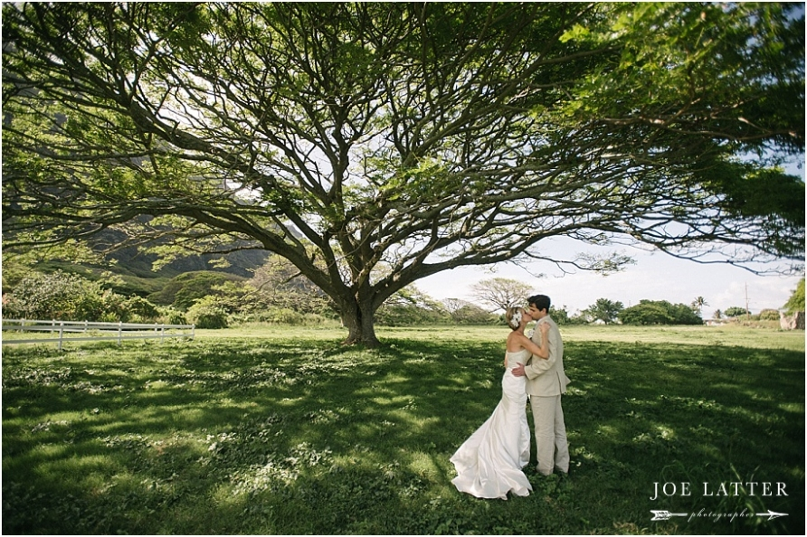 0031 Hawaii Wedding Oahu Kualoa Ranch Photographer