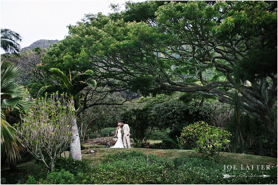 0037 Hawaii Wedding Oahu Kualoa Ranch Photographer