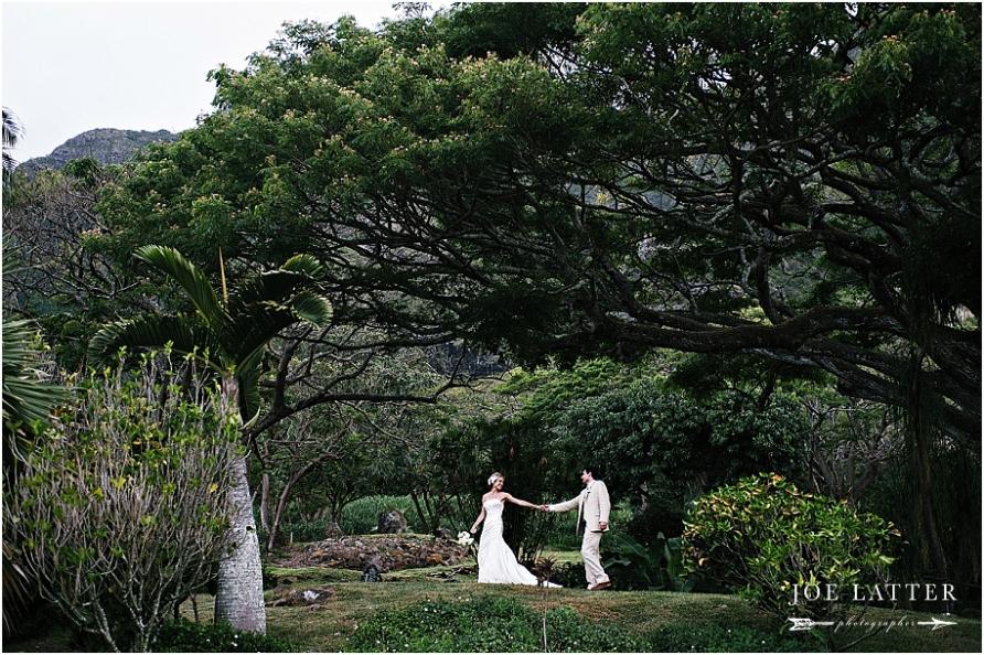 0038 Hawaii Wedding Oahu Kualoa Ranch Photographer