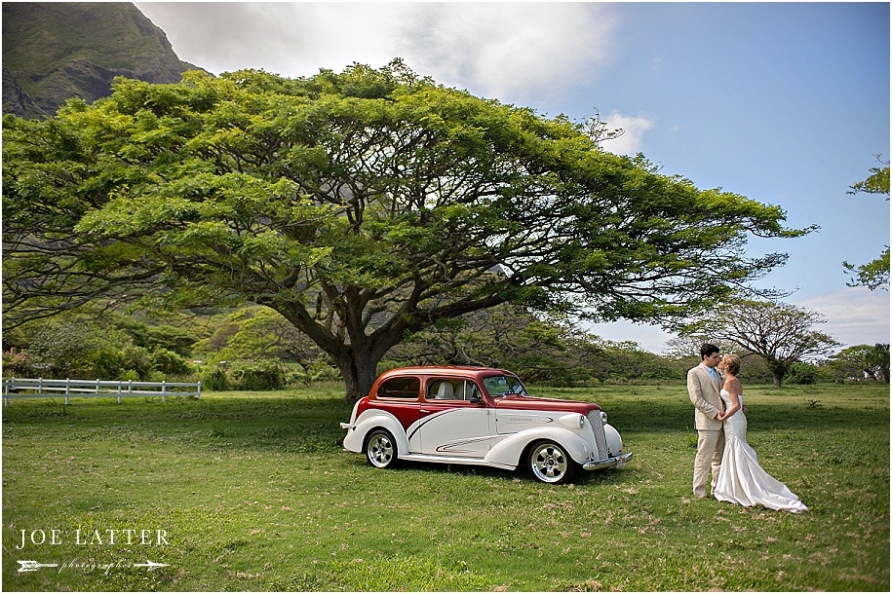 0022 Hawaii Wedding Oahu Kualoa Ranch Photographer