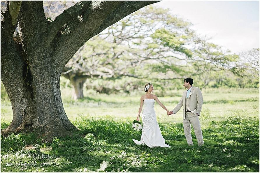 0029 Hawaii Wedding Oahu Kualoa Ranch Photographer